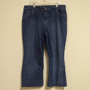 3for$20 style and co cropped bootcut size 14